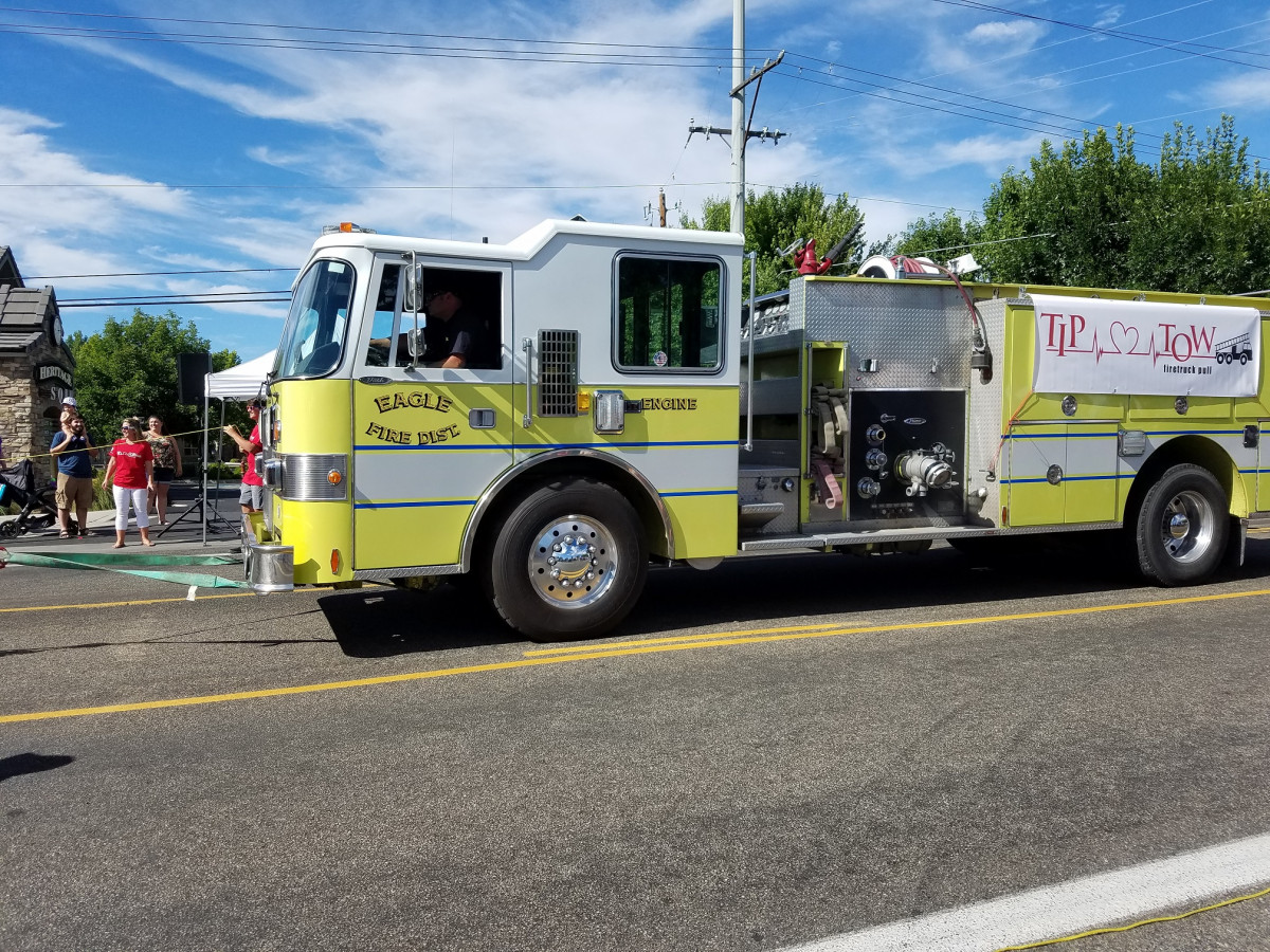 Bio-One Sponsors First Annual T.I.P. Tow Fire Truck Pull