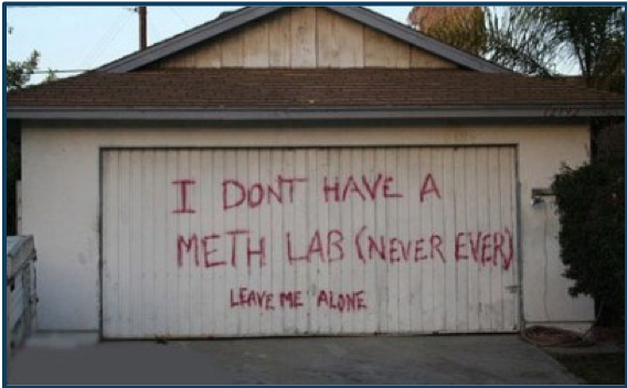 Tech Tip: Signs of a Meth Lab